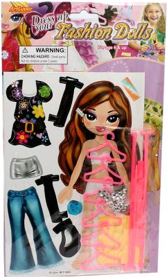 Набор для творчества ArtLover Модная куколка и браслетики / DFD-FT100-K