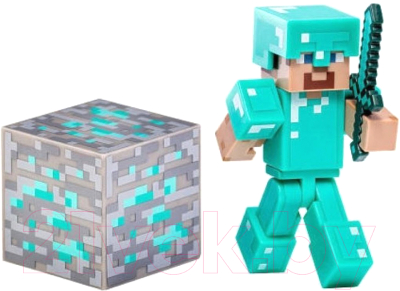 Фигурка Minecraft Diamond Steve / TM16504