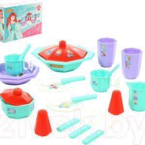 Набор игрушечной посуды Полесье Disney. Принцесса Ариэль - Готовим вместе / 71026