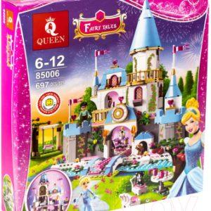 Конструктор Queen Disney Золушка на балу в Королевском Замке / 85006