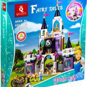 Конструктор Queen Disney Волшебный замок Золушки / 85012
