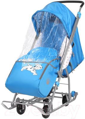 Санки-коляска Ника Disney-baby 1. 101 Далматинец / DB1/4