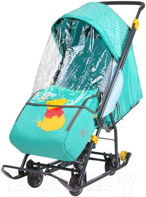 Санки-коляска Ника Disney-baby 1. Винни и друзья : Винни / DB1/2