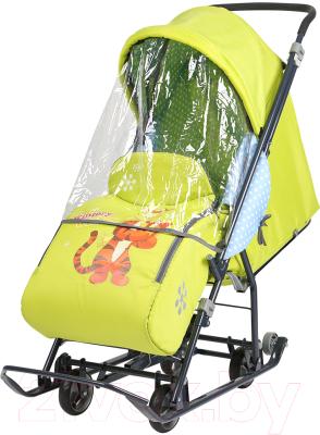 Санки-коляска Ника Disney-baby 1. Винни и друзья: Тигруля / DB1/3