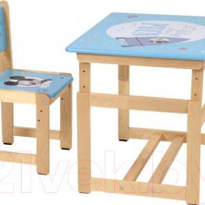 Комплект мебели с детским столом Polini Kids Disney Baby. 400 SM Микки Маус