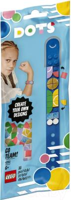 Набор для создания украшений Lego Dots Браслет Чемпионки / 41911
