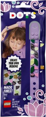 Набор для создания украшений Lego Dots Браслет. Волшебный лес / 41917