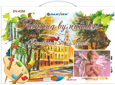 Картина по номерам Darvish Рисование по номерам / DV-4358