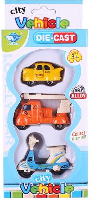 Набор игрушечных автомобилей Darvish DV-T-1149