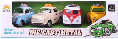 Набор игрушечных автомобилей Darvish DV-T-1153