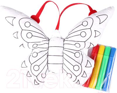 Набор для творчества Darvish Разукрашка объёмная. Бабочка / DV-T-1367-4
