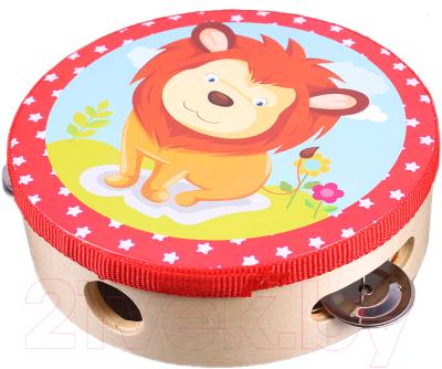 Музыкальная игрушка Darvish Бубен круглый / DV-T-1598