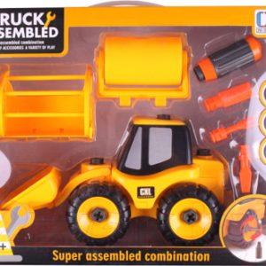 Трактор игрушечный Darvish Трактор с комплектующими / DV-T-1645