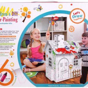 Сборная игрушка Darvish Домик-раскраска / DV-T-1680