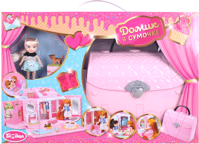 Кукольный домик Darvish В сумочке / DV-T-1912