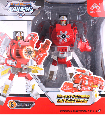 Робот-трансформер Darvish С мягкими пулями / DV-T-2006