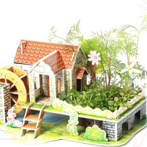 Набор для выращивания растений Darvish Радужный домик / DV-T-2178-6