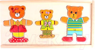 Развивающая игра Darvish Три медведя / DV-T-2389