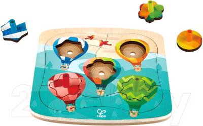 Развивающая игрушка Hape Головоломка-мозаика. Воздушные шары / E1623-HP