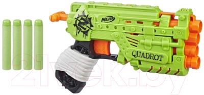 Бластер игрушечный Hasbro Зомби страйк Квадрот / E2673