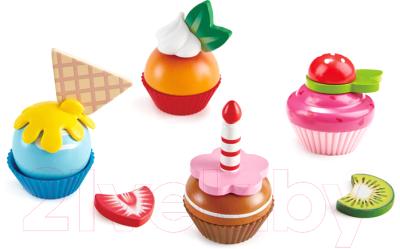 Набор игрушечных продуктов Hape Капкейки / E3157-HP