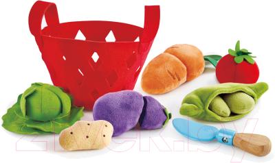 Набор игрушечных продуктов Hape Овощная корзина / E3167-HP