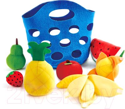 Набор игрушечных продуктов Hape Корзина с фруктами / E3169-HP