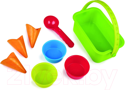 Набор игрушек для песочницы Hape Магазин мороженого / E4057-HP