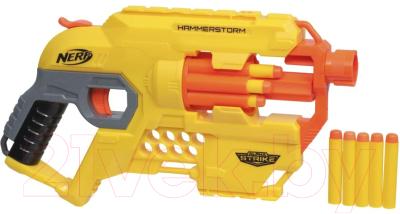 Бластер игрушечный Hasbro Альфа Страйк Хаммерсторм / E6748