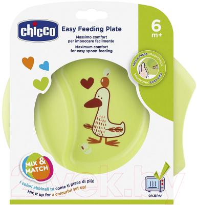 Тарелка для кормления Chicco Easy Feeding с разделителями
