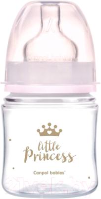 Бутылочка для кормления Canpol EasyStart Royal Baby / 35/233