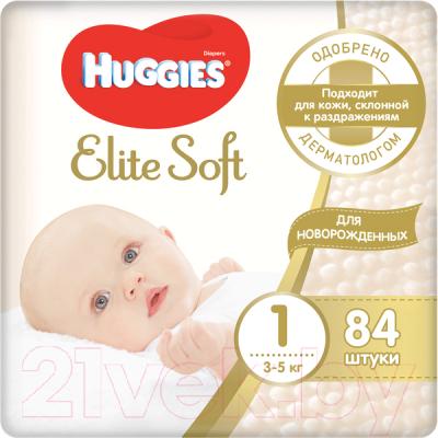 Подгузники детские Huggies Elite Soft 1 Mega