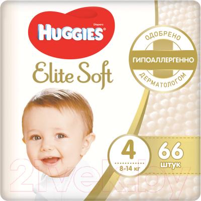 Подгузники детские Huggies Elite Soft 4 Mega