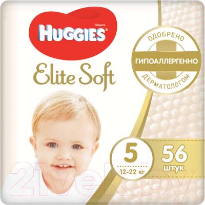 Подгузники детские Huggies Elite Soft 5 Mega