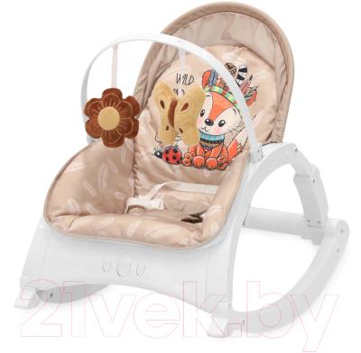 Детский шезлонг Lorelli Enjoy Beige Foxy / 10110112042