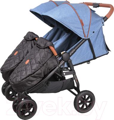 Детская прогулочная коляска Coletto Enzo Twin