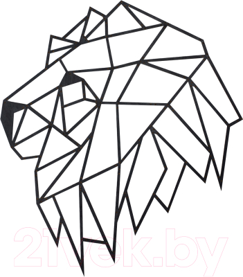 Сборная игрушка EWA Голова льва