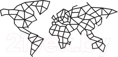 Сборная игрушка EWA Карта мира