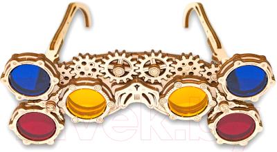 Сборная игрушка EWA Механические очки-гогглы. Треугольник