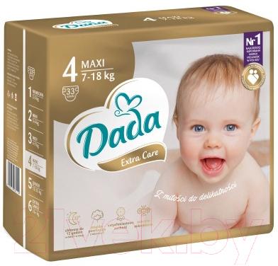 Подгузники детские Dada Extra Care Maxi 4