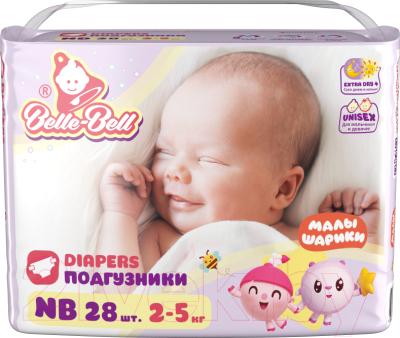 Подгузники детские Belle-Bell Extra Dry+ NB 2-5 кг / BD04