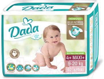 Подгузники детские Dada Extra Soft Maxi 4+