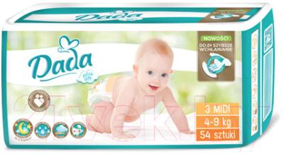 Подгузники детские Dada Extra Soft Midi 3