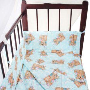 Комплект постельный в кроватку Fun Ecotex Сони / FE 10024