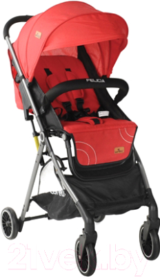 Детская прогулочная коляска Lorelli Felicia Red / 10021461999