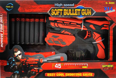 Бластер игрушечный Play Smart Шторм / FJ432
