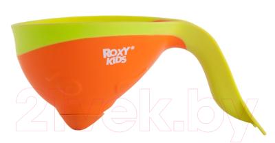 Ковшик для купания Roxy-Kids Flipper RBS-004-O с лейкой
