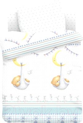 Комплект постельный в кроватку Непоседа Forever Friends. Спящий медвежонок / 562831