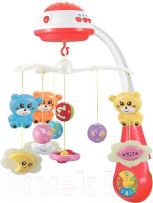 Мобиль на кроватку Baby Mix Медвежата / FS-35604