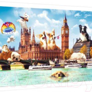 Пазл Trefl Funny Cities. Собаки в Лондоне / 10596